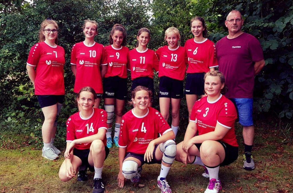 C-Jugend war auch am Start bei der SG Hainburg
